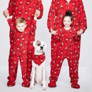 Fuzzy Christmas Pajamas